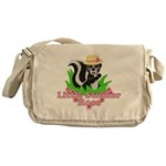 Little Stinker Rose Messenger Bag