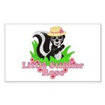 Little Stinker Rose Sticker (Rectangle 10 pk)
