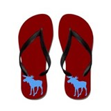 UNIVERSITY OF AWESOME Flip Flops