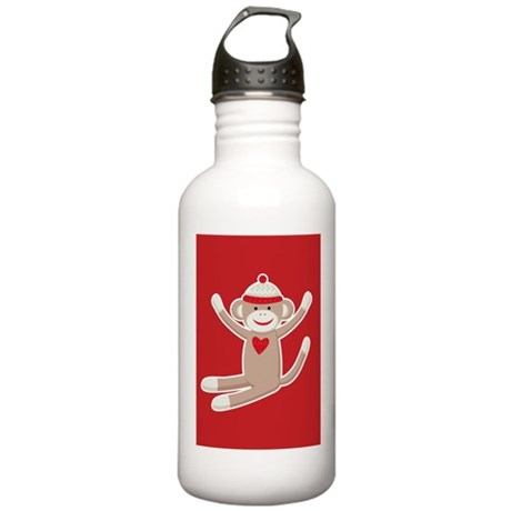 Sock Monkeys Stainless Water Bottle 1.0L