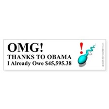 Future Obama Taxpayer, Bumper Sticker