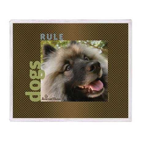 Dogs Rule/Cats Rule Throw Blanket