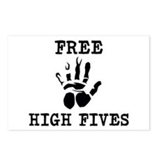 Free High Fives Postcards (Package of 8)