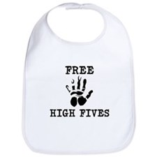 Free High Fives Bib