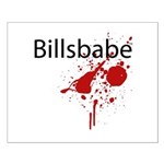 Billsbabe Small Poster