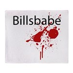 Billsbabe Throw Blanket