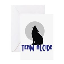 Cute Team alcide Greeting Card