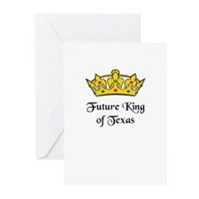Funny Bill king Greeting Cards (Pk of 20)