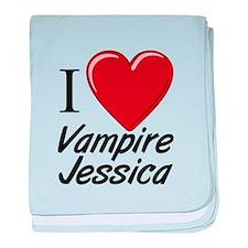 Cute Jessica baby blanket