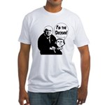 Bush: I'm the Decider! Fitted T-Shirt