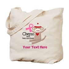 Pink Ribbon Custom Chemo Tote Bag