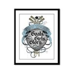 Hat Trick: Goals, Girls & Glo Framed Panel Print