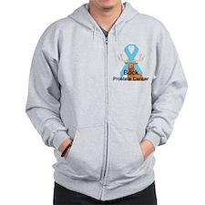 Prostate Cancer Zip Hoodie