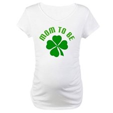 Irish Mom-to-Be Shamrock Shirt