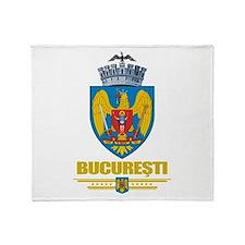 Bucuresti (Bucharest) Throw Blanket