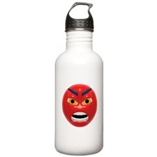 Very Angry Face Water Bottle