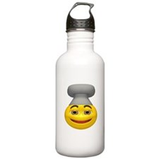 Chef Hat Face Water Bottle