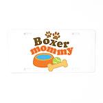 Boxer Mommy Pet Gift Aluminum License Plate