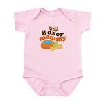 Boxer Mommy Pet Gift Infant Bodysuit