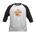 Chow Chow Mommy Pet Gift Kids Baseball Jersey