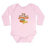 Chow Chow Mommy Pet Gift Long Sleeve Infant Bodysu