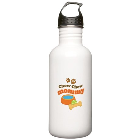 Chow Chow Mommy Pet Gift Stainless Water Bottle 1.