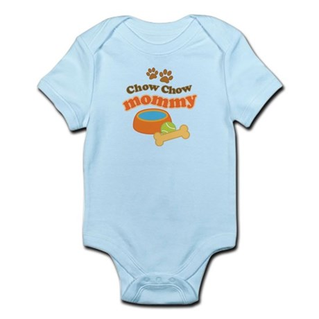 Chow Chow Mommy Pet Gift Infant Bodysuit