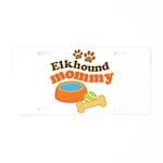 Elkhound Mommy Pet Gift Aluminum License Plate
