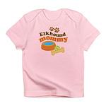 Elkhound Mommy Pet Gift Infant T-Shirt