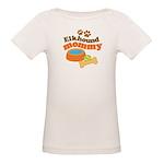 Elkhound Mommy Pet Gift Organic Baby T-Shirt