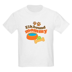 Elkhound Mommy Pet Gift Kids Light T-Shirt