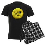 Winky Face Men's Dark Pajamas