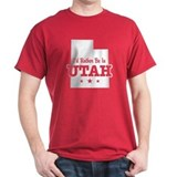 I'd Rather Be In Utah T-Shirt