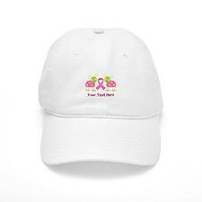 Personalized Breast Cancer Ladybug Baseball Cap