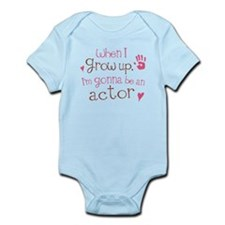 Kids Future Actor Infant Bodysuit