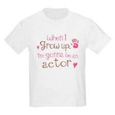 Kids Future Actor T-Shirt