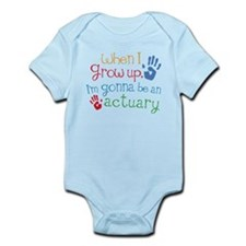 Kids Future Actuary Infant Bodysuit