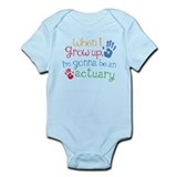 Kids Future Actuary Onesie