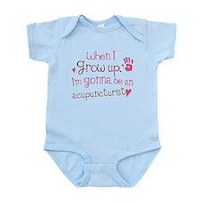 Kids Future Acupuncturist Infant Bodysuit