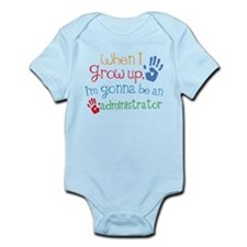 Kids Future Administrator Infant Bodysuit