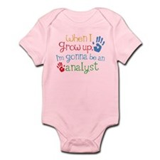Kids Future Analyst Infant Bodysuit