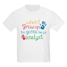 Kids Future Analyst T-Shirt