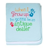 Kids Future Antique Dealer baby blanket