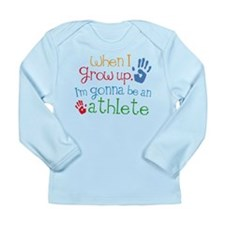 Kids Future Athlete Long Sleeve Infant T-Shirt