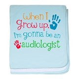 Kids Future Audiologist baby blanket