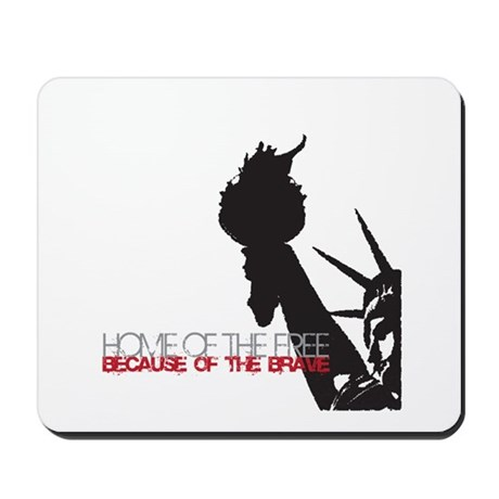 Because of the Brave Mousepad