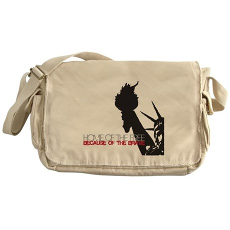 Because of the Brave Messenger Bag