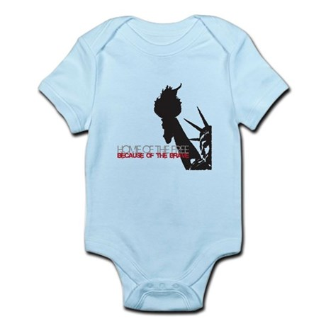 Because of the Brave Infant Bodysuit