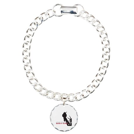 Because of the Brave Charm Bracelet, One Charm