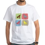 Chinese Crested White T-Shirt